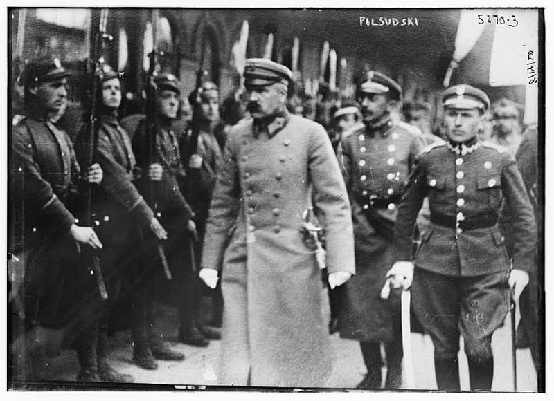 пилсудский в минске в 1919