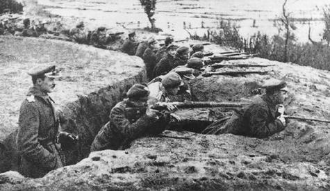 поляки на немане в октябре 1920