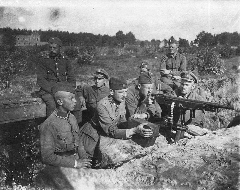 поляки под Варшавой август 1920