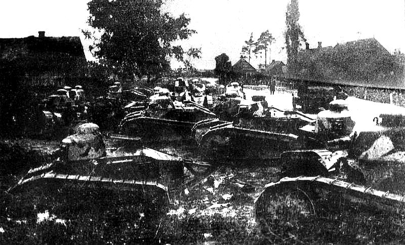 французские Tanks_FT-17 под варшавой