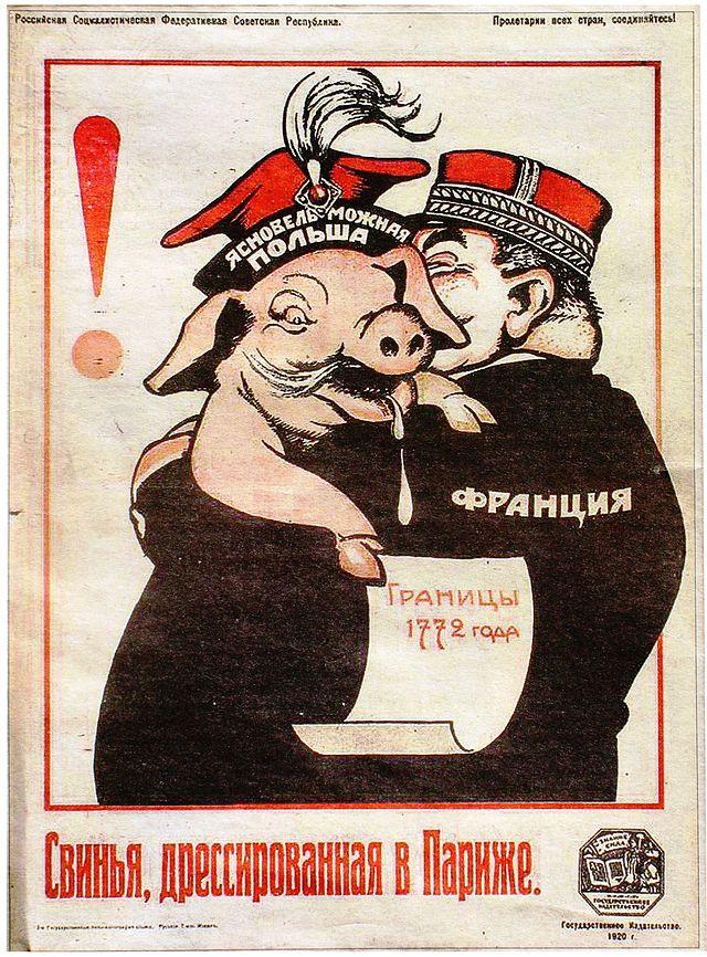Ясновельможная_Польша_плакат_РСФСР_1920