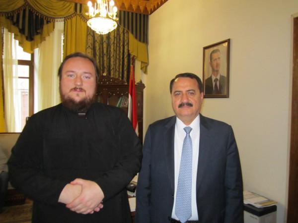 Встреча с Послом Сирии в РФ
