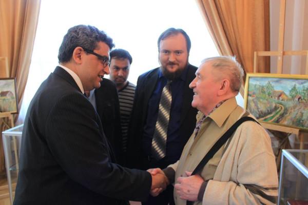 Встреча с Послом Египта 23,04,2014