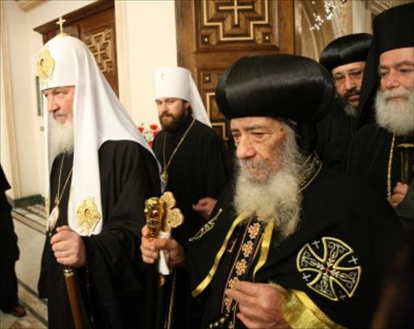Визит Патриарха Кирилла в Каир