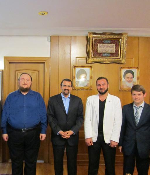 Встреча с Послом Исламской Республики Иран в Российской Федерации, Господином Мехди Санаи