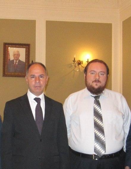 Директор Фонда МФХС на встрече с Послом Государства Палестина в России