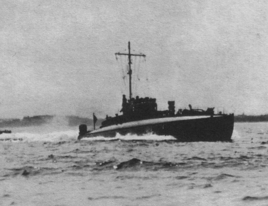 LM на патрулировании, 1918 г.