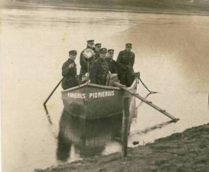 Моторная лодка Pionierius