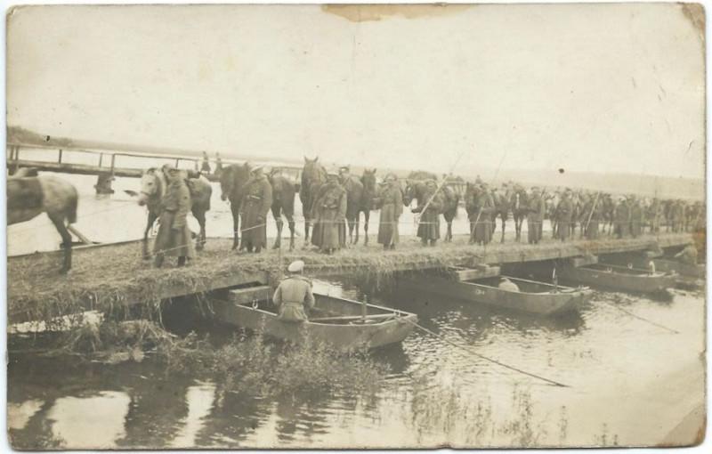 Россия переправе через р.Стырь. 8 июня 1915 года.