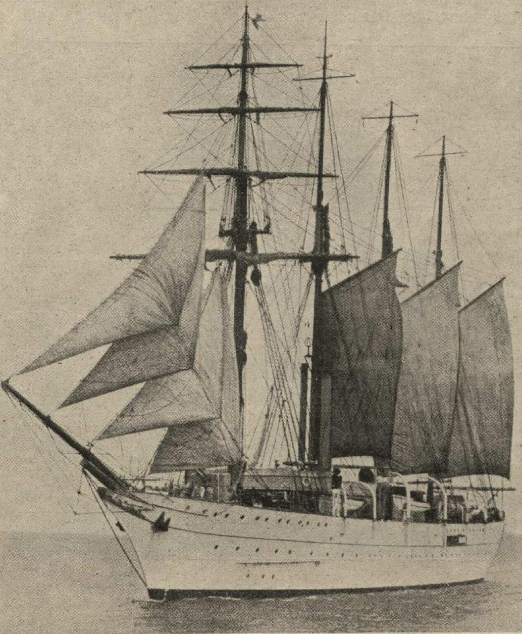 Бразильское  учебное судно Almirante Saldanha