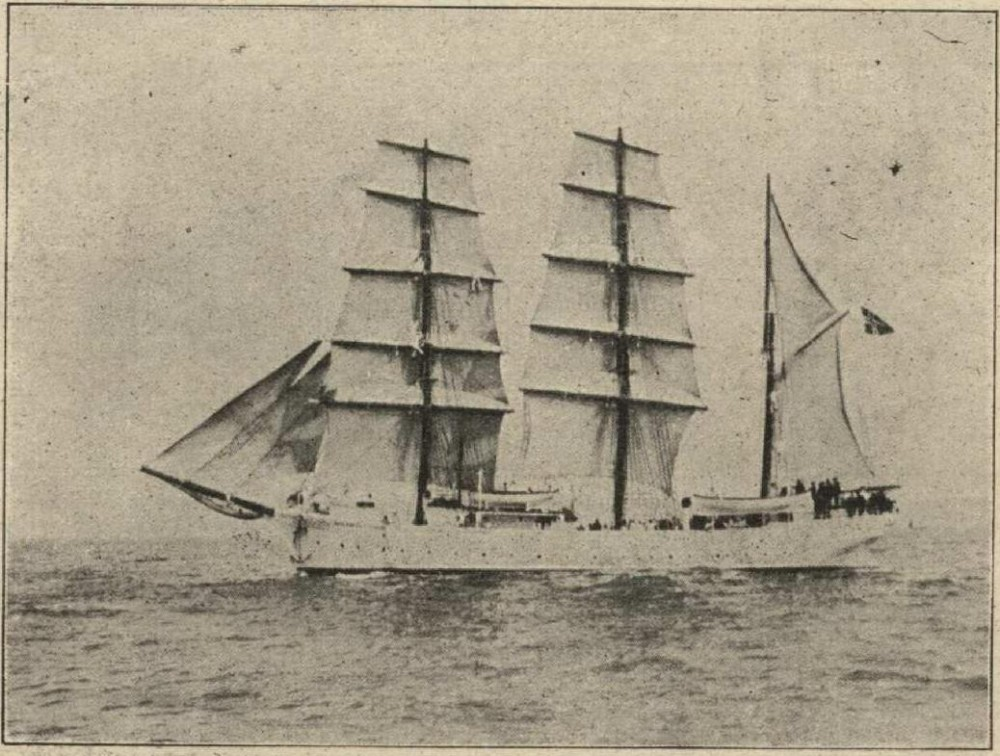 Норвежское учебное судно Tordenskields