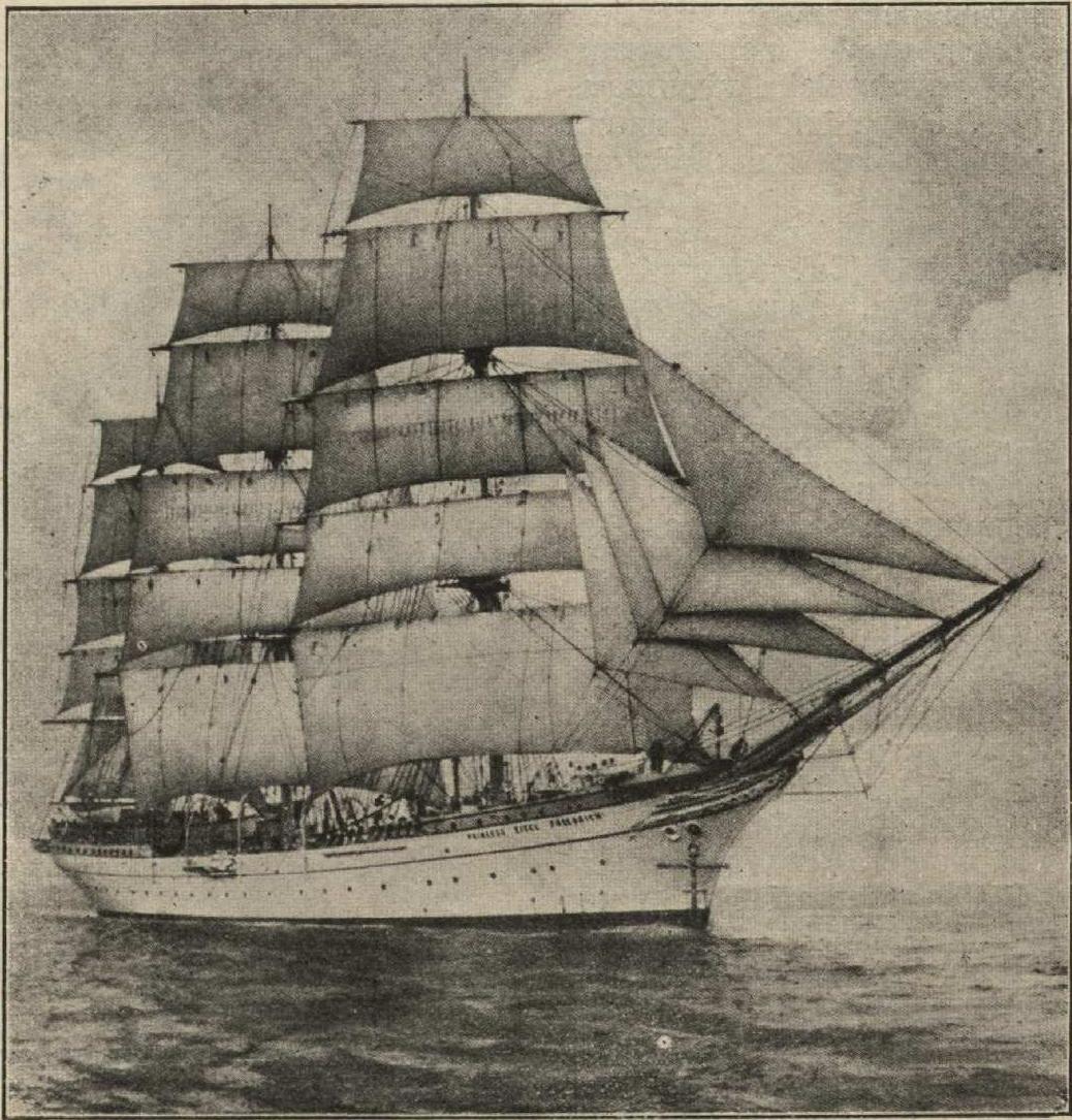 Польское  учебное судно Dar Pomorza
