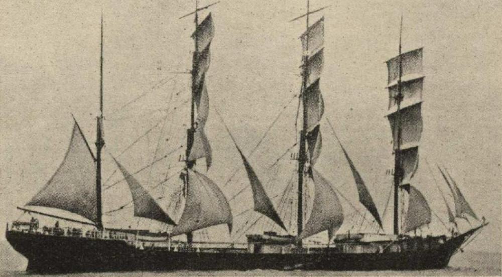 Шведское учебное судно C.B.Pedersen