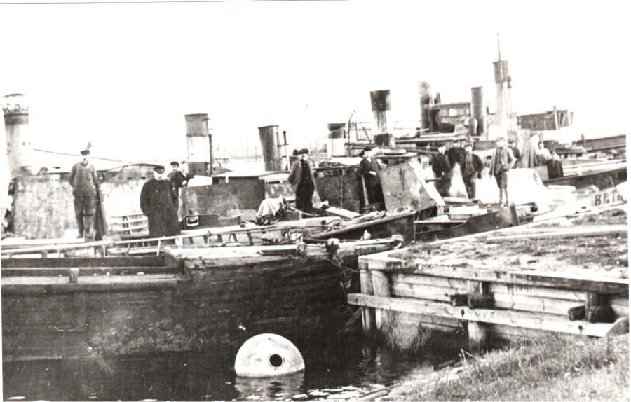 БЕТА Подготовка в высадка в Болдераа 14 октября  1919г