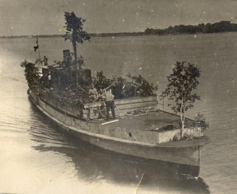 СЕКУНДА river gunboat