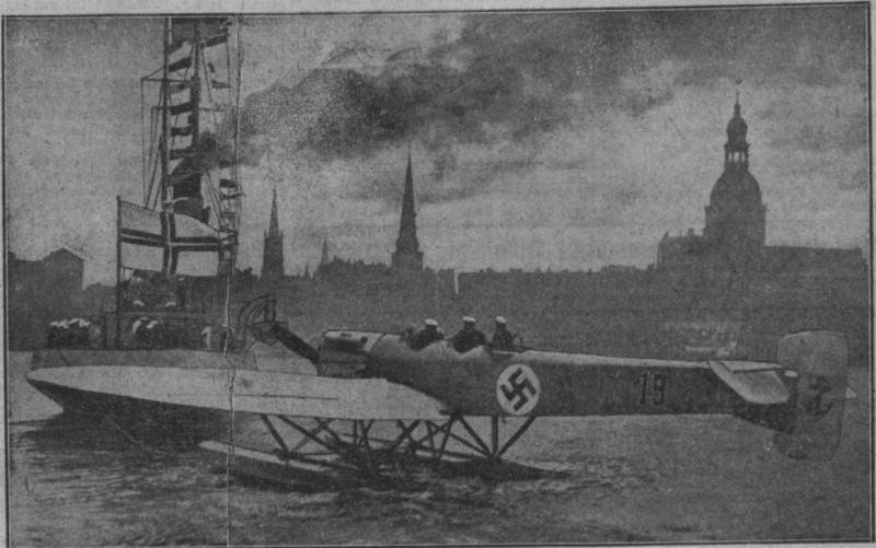 Рига 1930-й год