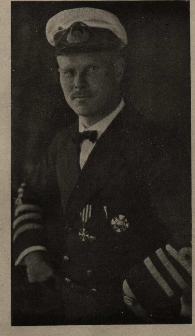 Kapteinis Ernsts Puķīts, kā Latvijas kara flotilijas dibinātājs un komandiers