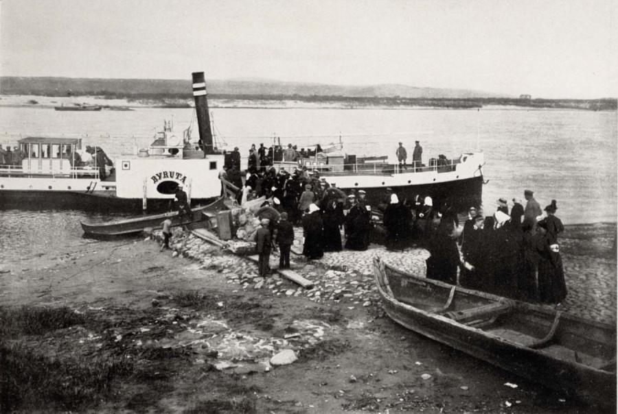 ЛИТОВСКАЯ СУДОХОДНАЯ КОМПАНИЯ (1919-1940 гг) Lietuvos laivininkystės bendrovės
