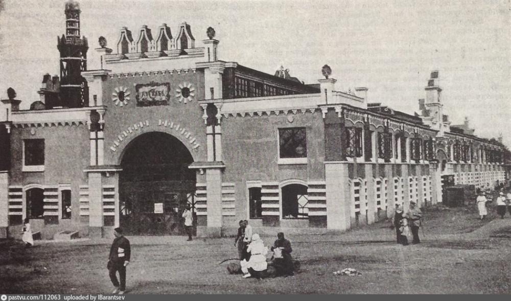Первая выставка 1925 года в механическом цехе завода.