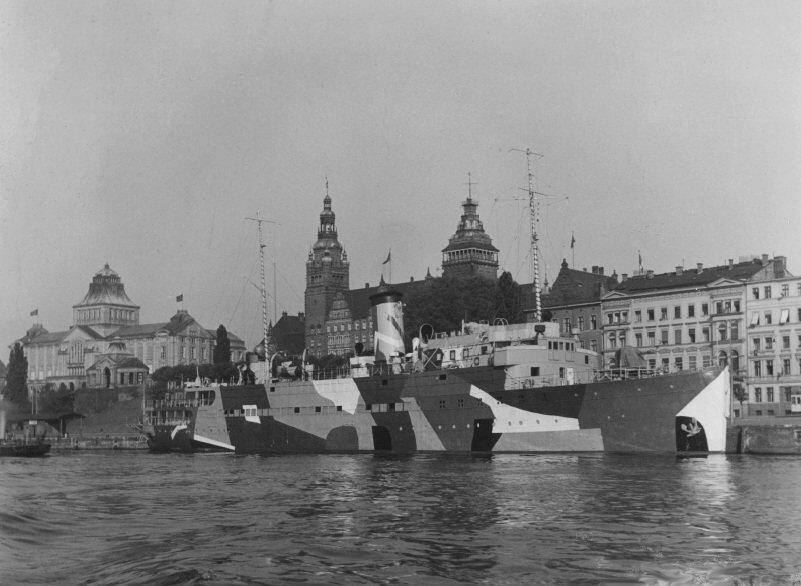 порт Штеттин, 1940