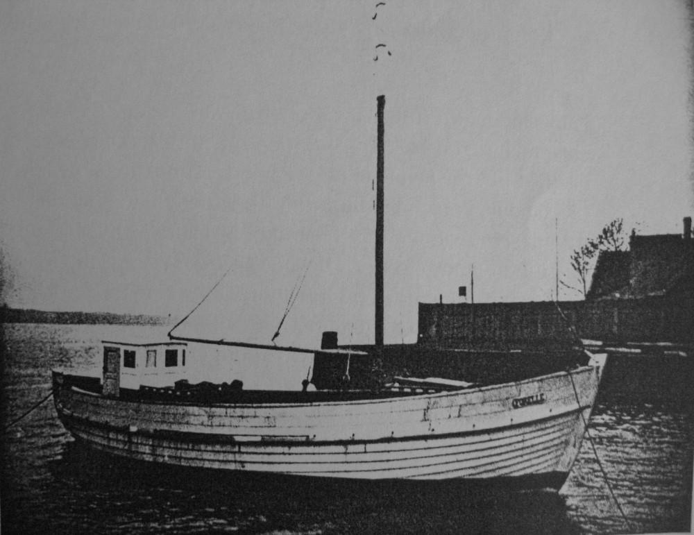 Рыбацкая шхунаFORELLE 1929 г.п. 20 брт.11х4х2м. 40 Psi