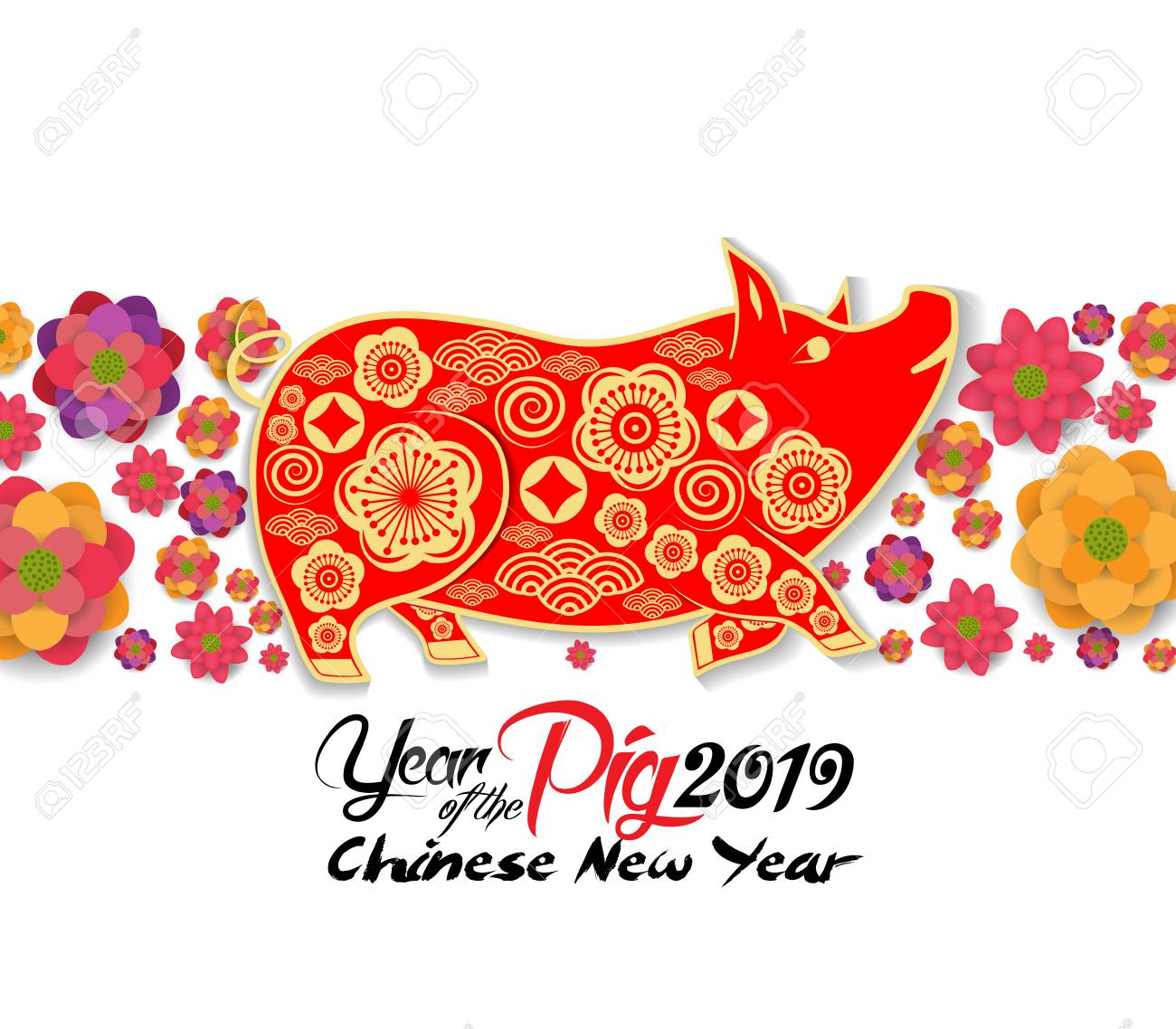 2019-chinese-new-year-greeting-card-paper-cut-with-yellow-pig-and-blooming-background-year-of-the-pi.jpg