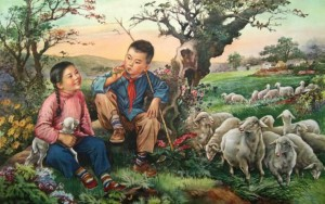 A Chinese New Year's Painting of the 1950s.jpg