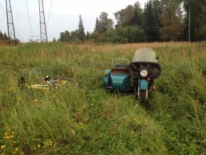 Наш Урал и велосипед отдыхают