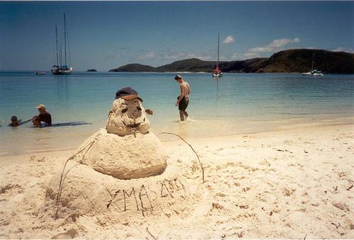 australian-snowman