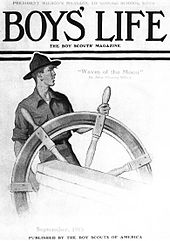 170px-Norman_Rockwell-_Scout_at_Ships_Wheel