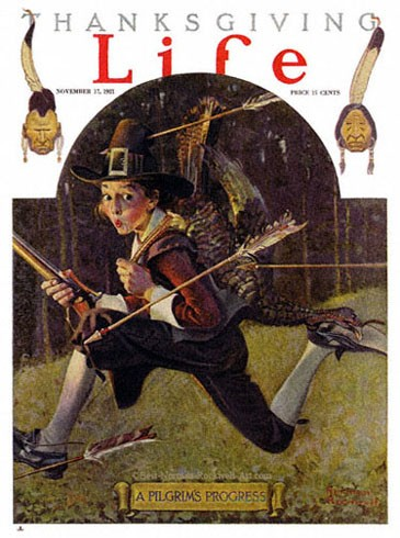 1921-11-17-Life-Norman-Rockwell-cover-A-Pilgrims-Progress-400