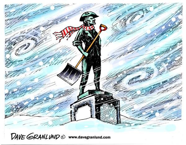 New England snowstorm