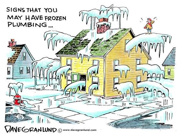 Frozen plumbing