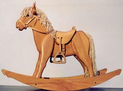 wooden-rocking-horse