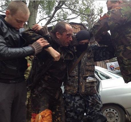 Славянск_ вертолётчик ранен