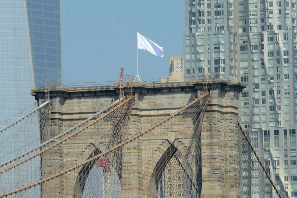 White-Flag-Brooklyn-Bridge