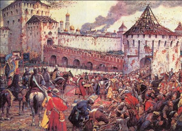 Капитуляция-польского-гарнизона-в-Кремле.-1612-год