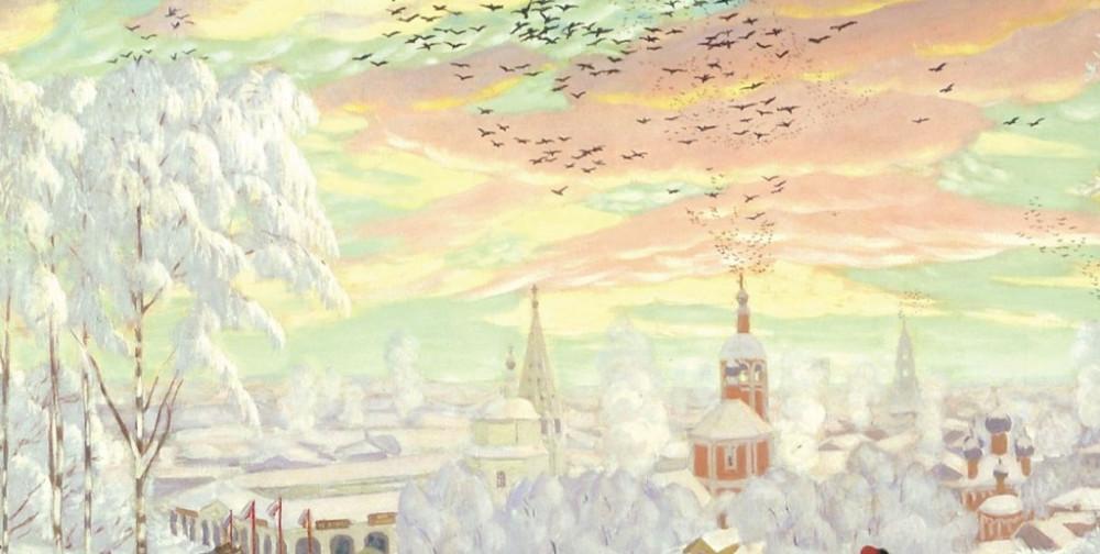 Кустодиев Масленица