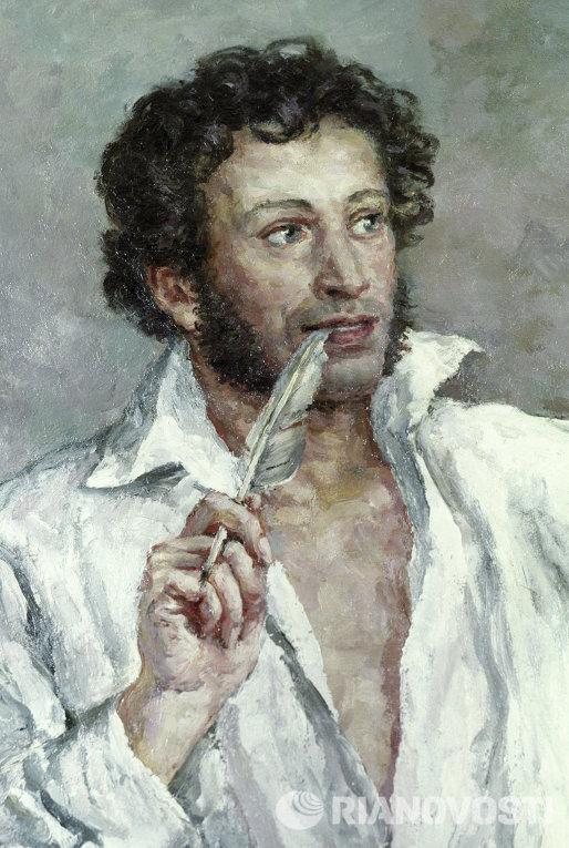 Александр Сергеевич Пушкин Петра Кончаловского.
