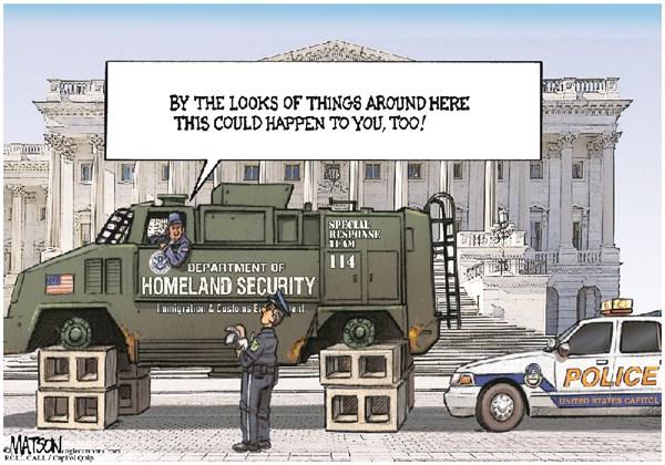 Homeland Security Shutdown