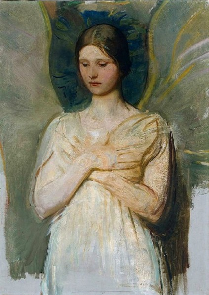 Abbott Handerson Thayer (American artist, 1849–1921) The Angel 1903.jpg
