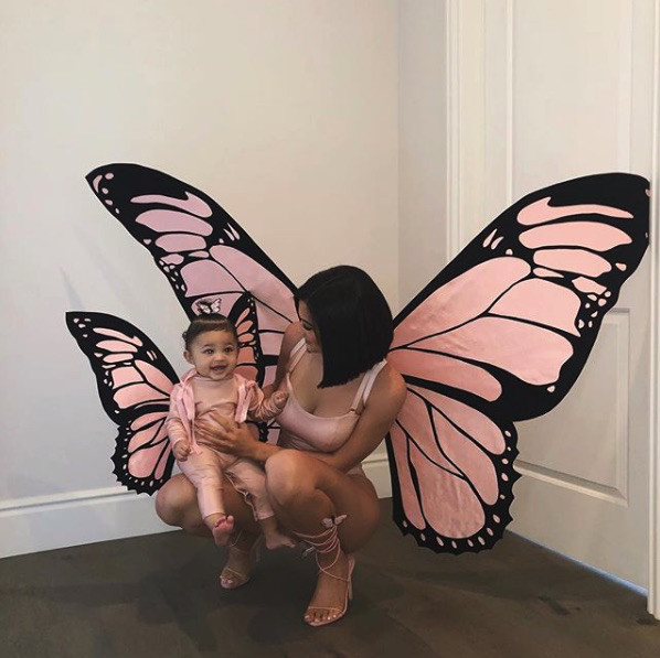Kylie Jenner and Stormi Webster as butterflies.jpg