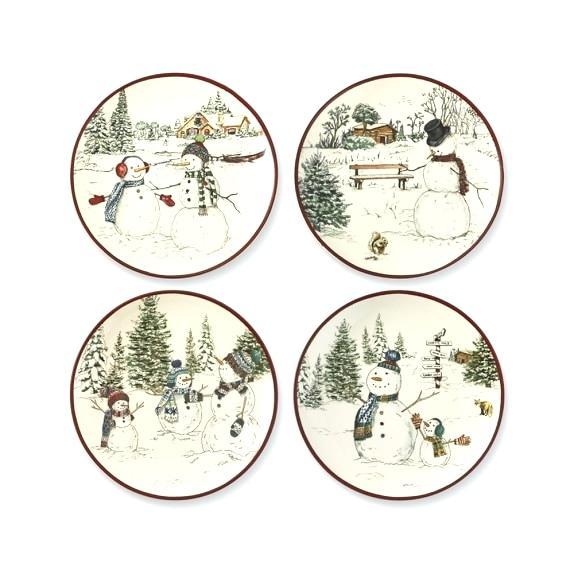 snowmen-plate-snowman-salad-plates-set-of-4-paper-craft-template.jpg