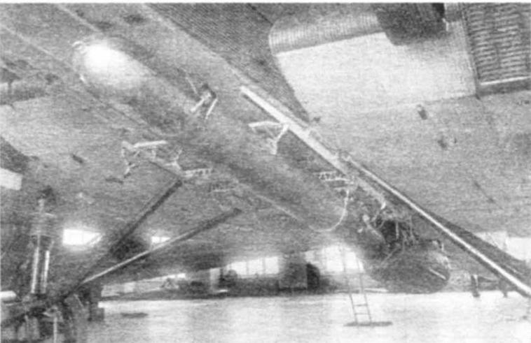Серийная ТАВ-15 под ТБ-3. Примерно также крепилась и ТАВ-15РУТ.