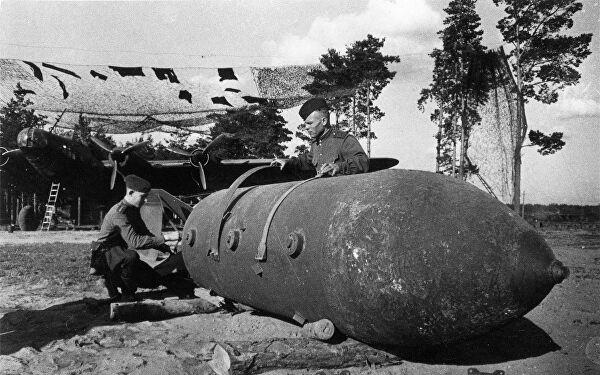 Наследие проекта советских беспилотников - 5-тонная фугасная бомба ФАБ-5000НГ.