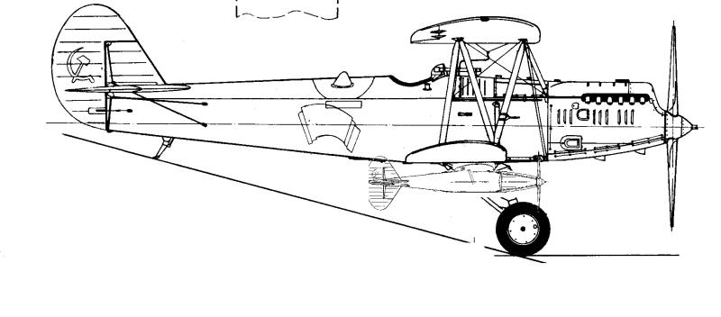 Попытка реконструировать, как мог бы выглядеть Р-5 с ЗАМ под крылом.