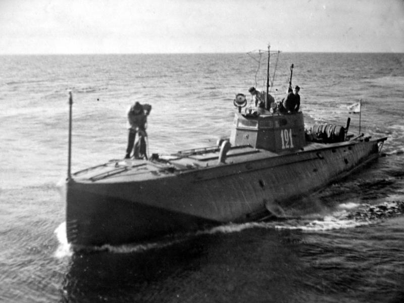 ВОЗМОЖНО торпедный катер волнового управления.