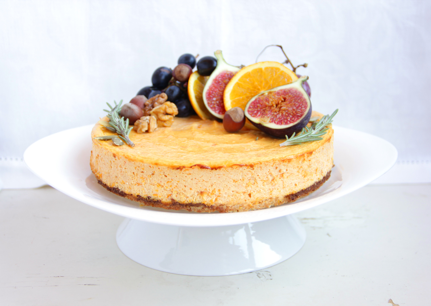 Pumpkin Dukan Cheesecake 1