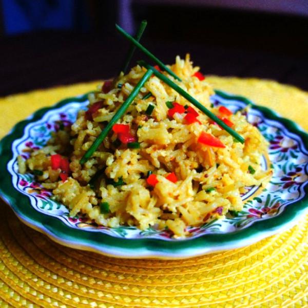 Солнечный рис по-тайски