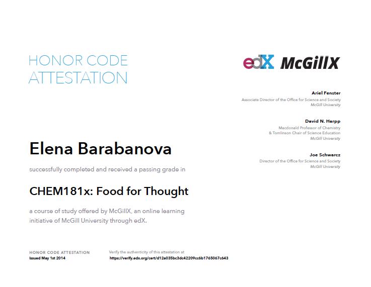 mcgill certificate